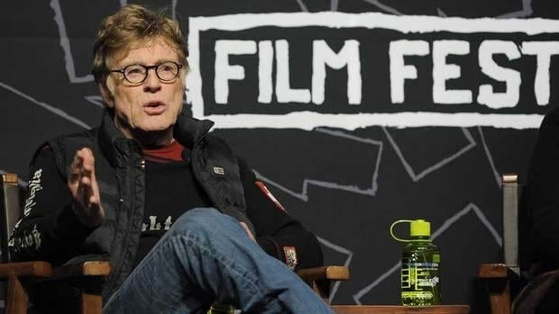 Robert Redford, founder and president of the Sundance Institute, speaks during the opening news conference of the 2013 Sundance Film Festival, Thursday.
