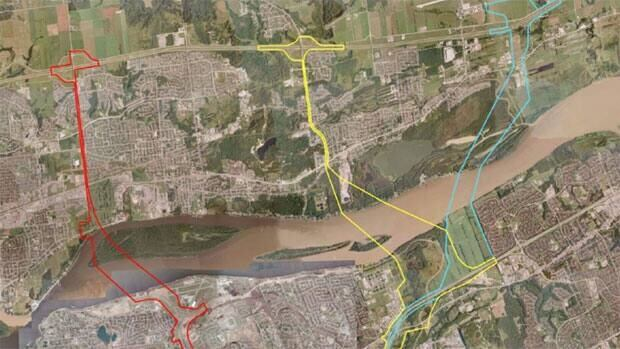 The NCC is studying three corridors for a potential sixth interprovincial bridge connecting Ottawa and Gatineau.
