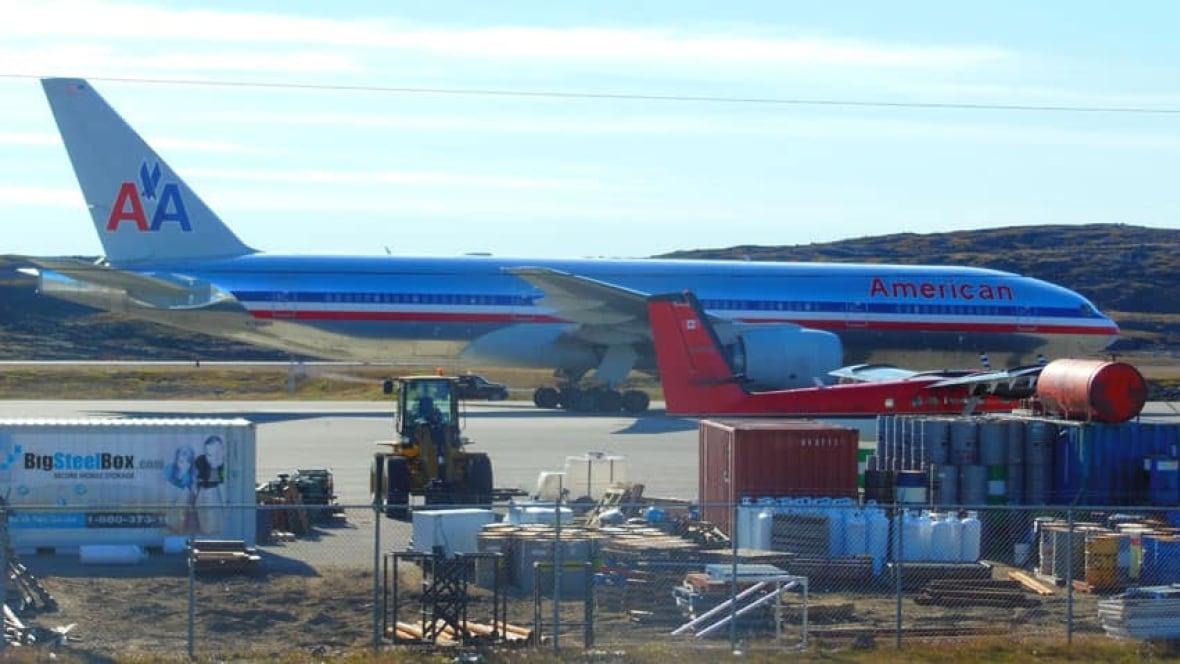 American Airlines Plane Makes Emergency Landing In Iqaluit