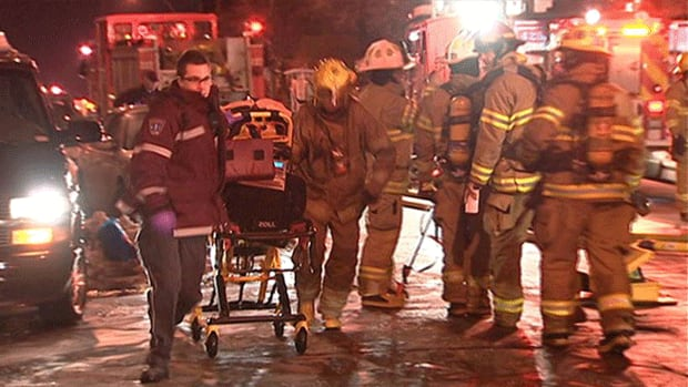 Shortly after the fire on Van Horne Street, Montreal Fire Department said there was a mixup in dispatch orders, delaying the arrival of firefighters at the scene.