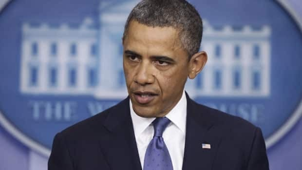 U.S. President Barack Obama blames Republicans for putting the nation's shaky economy at risk.