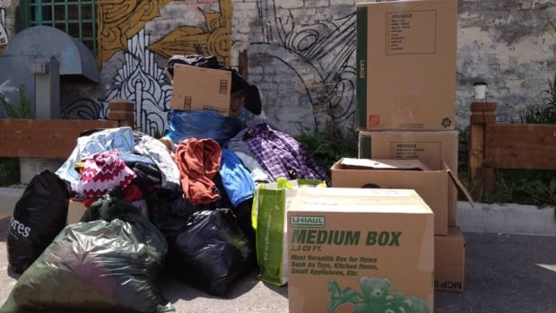 A clothing donation drive called Walk With Dignity is trying to help the city's less fortunate.