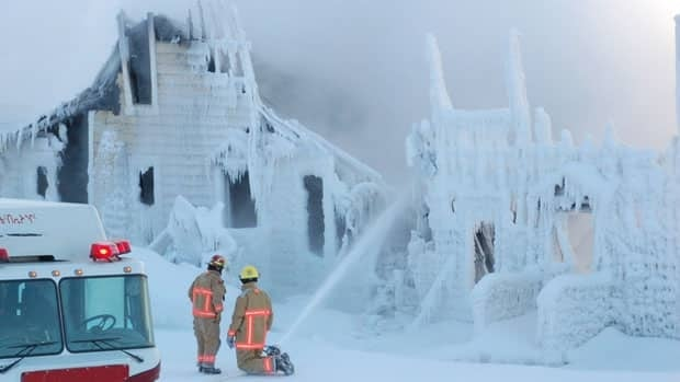 Dozens of people are homeless after a deadly fire at the White Row townhomes in Iqaluit on Sunday night.