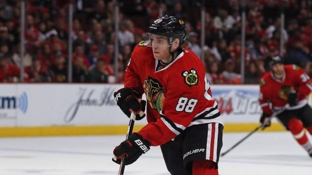 Patrick Kane of the Chicago Blackhawks is a first-time finalist for the Lady Byng Trophy for sportsmanship.