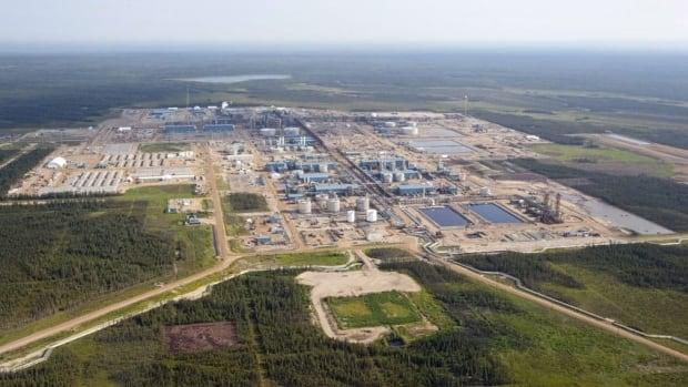Suncor's Firebag oilsands facility is seen near Fort McMurray.