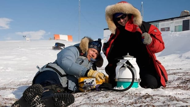McGill University microbiologists Lyle Whyte, left, and Nadia Mykytczuk are interested in learning how microbes live in extremely cold environments to help in the search for microbial life in other parts of our solar system.
