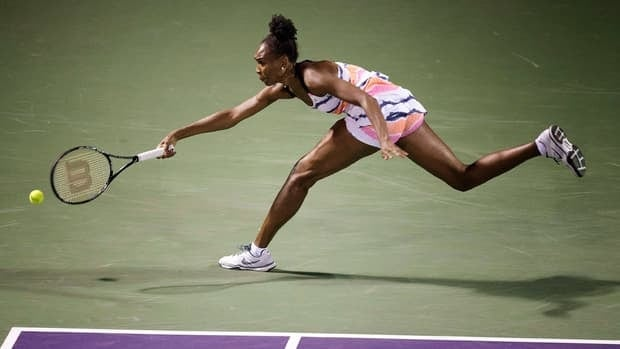 Venus Williams during the Sony Open tennis tournament, Thursday, March 21, 2013, in Key Biscayne, Fla.