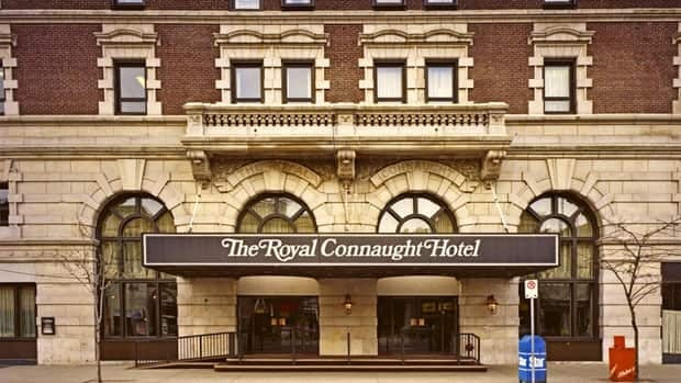 The Connaught as it looked some 30 years ago.