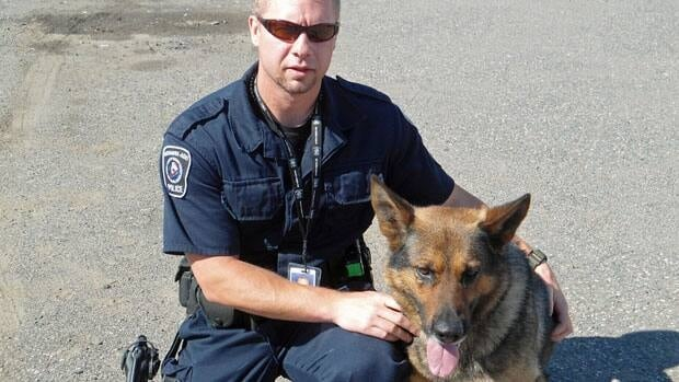 Constable Darin McClendon and four-year-old German Shepherd, Pax, may no longer work together for the Nishnawbe Aski Police Service because a federal program that funds the canine unit is slated for closure next year.