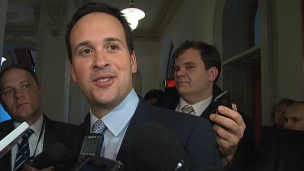 Intergovernmental Affairs Minister Alexandre Cloutier said the Parti Québécois has no plans to hold a referendum on sovereignty.(CBC)