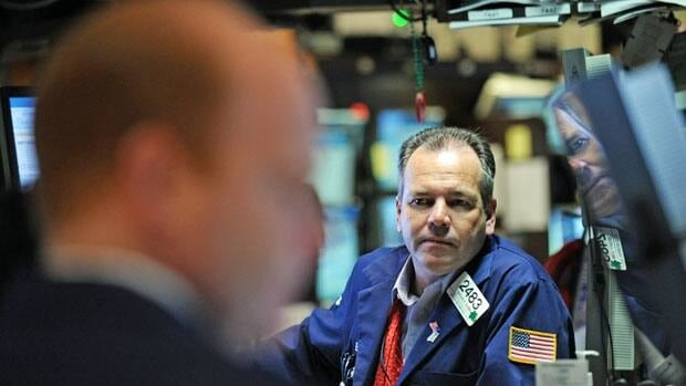 North American markets traded lower Thursday on signs of slower growth in China and Europe.