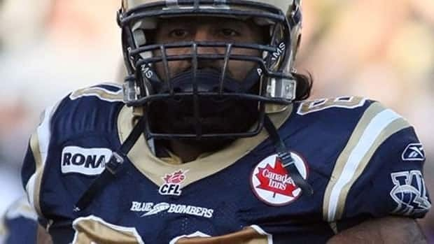 Obby Khan has played for the Blue Bombers since 2006.