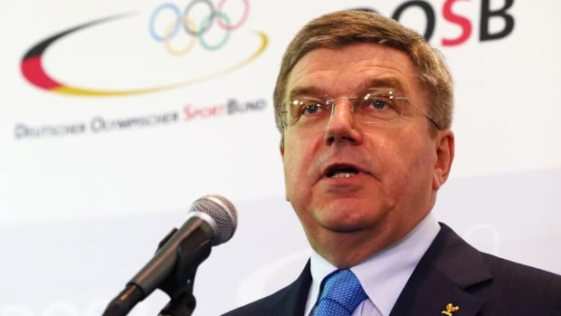Thomas Bach during a press conference at the DOSB headquarters 'Haus des Sports' on May 9, 2013 in Frankfurt am Main, Germany.