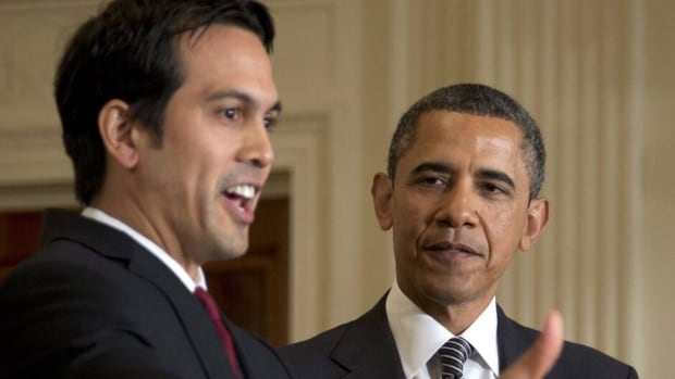 U.S. president Barack Obama told coach Erik Spoelstra that he'll have the Miami Heat visit the White House to congratulate them in person on their NBA championship.