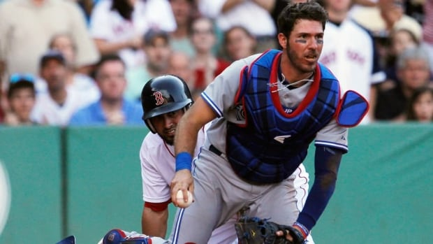 Toronto Blue Jays catcher J.P. Arencibia has been struggling, batting .216 with 15 home runs and 38 RBIs.