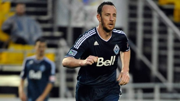 Vancouver Whitecaps central defender Andy O'Brien suffered a hamstring injury during a weekend loss at Seattle.