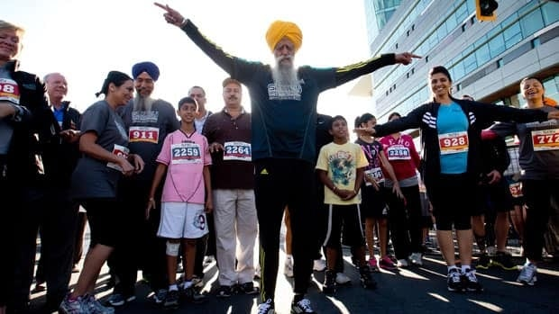 One-hundred-and-one-year-old marathoner Fauja Singh is considered the oldest marathon runner in the world.