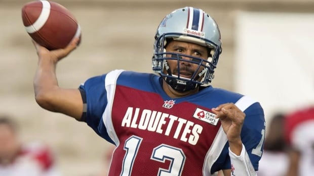 Montreal Alouettes quarterback Anthony Calvillo sustained a concussion last week against the Saskatchewan Roughriders.