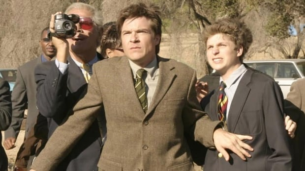 Jason Bateman and Michael Cera in the original Arrested Development. Cera spoke today in Toronto about the new episodes soon to screen.