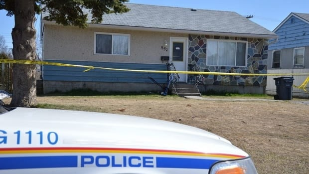 Police began investigating a suspicious death at a home on Douglas Street in Prince George Friday.