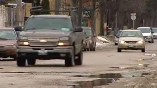 Seven of the 10 worst roads in Manitoba, as identified by drivers in a CAA Manitoba online voting campaign, are in Winnipeg.