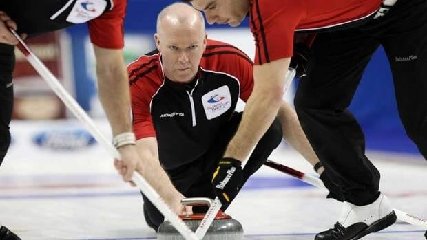 Glenn Howard, shown here competing at last year's Brier, remains perfect heading into the next round of the Dominion Tankard Ontario men's curling championship.