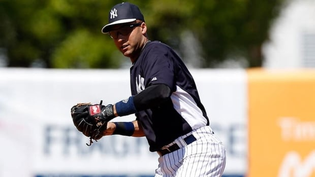 New York Yankees shortstop Derek Jeter hasn't played in a game since March 23.