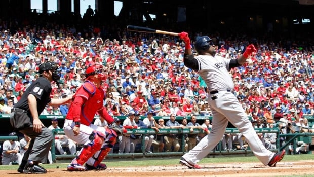 Boston Red Sox veteran slugger David Ortiz passed Harold Baines with his 1,689th hit from the DH spot this year.