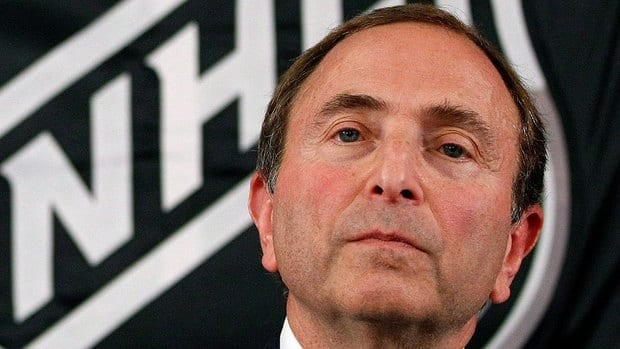 NHL commissioner Gary Bettman is said to have told employees at the league's headquarters on Wedneday that they will only receive 80 per cent of their salary, starting Oct. 1.