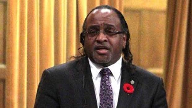 NDP MP Tyrone Benskin, pictured in the House of Commons, was stripped of his deputy critic duties Friday after it was revealed that he owes more than $58,000 in taxes.