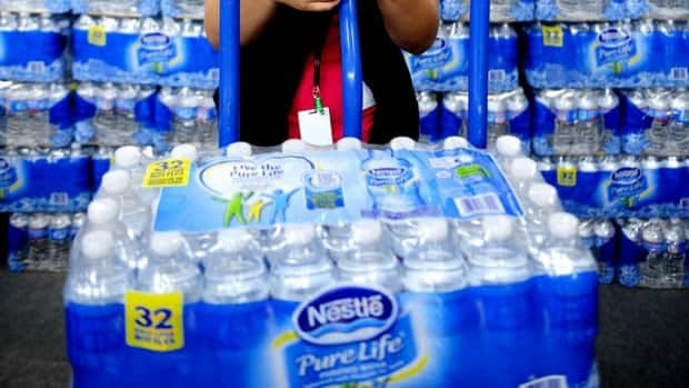 Nestle is the largest seller of bottled water in the world.