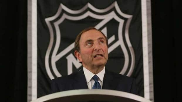 NHL commissioner Gary Bettman said the league needs to be able to fit in at least 48 games per team to save the season.