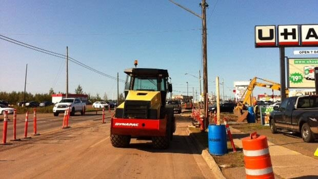 Moncton businesses are upset about the length of time it is taking the city to fix an area around West Main Street.
