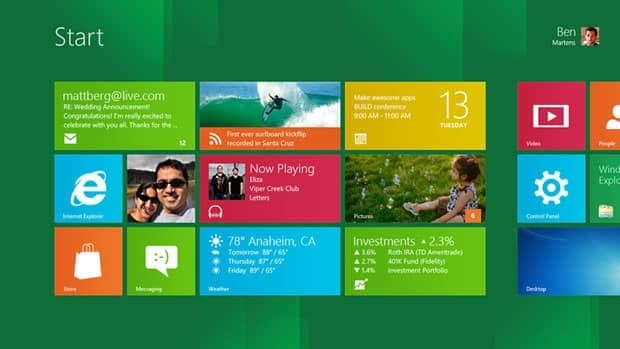 Windows 8 available to try