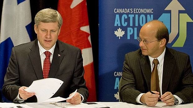 Prime Minister Stephen Harper, left, has appointed Senator Claude Carignan government leader in the Senate, replacing Marjory LeBreton, who announced her decision to step down from the post last month.