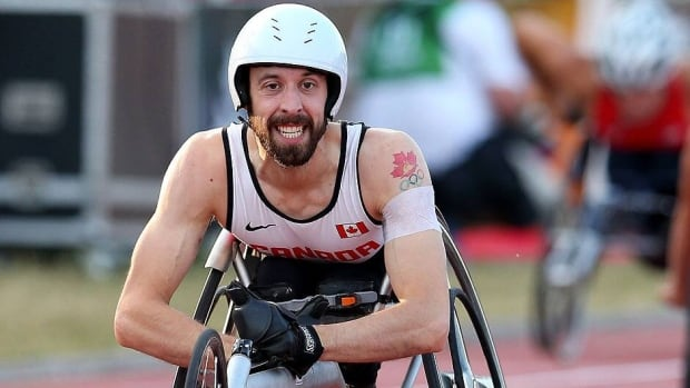 Paraplegic Brent Lakatos of Dorval, Que., clocked 14.51 seconds in Lyon, France on Friday to win the men's T53 100-metre final at the world paralympic athletics championship.