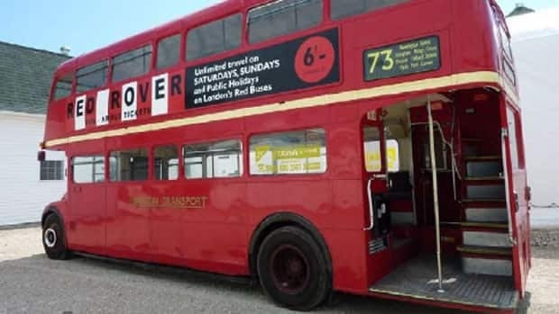 This 1967 Routemaster double-decker bus originally drove through the streets of London. Now, it will shuttle passengers at the Assiniboine Park Zoo.