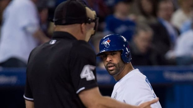 Jose Bautista said he just wants the right call to be made. And defended his right to react.
