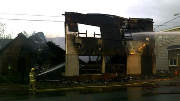JT's Pub and Steakroom was completely destroyed in the overnight fire.