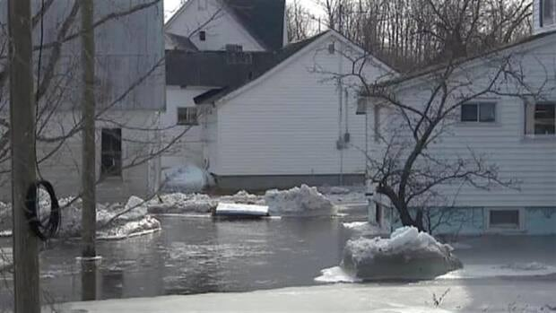 Last month, an ice jam in the Village of Stanley caused the Nashwaak River to spill its banks, forcing about 35 residents out of their homes for a few days.