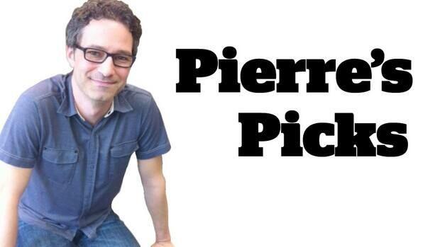 CBC Homerun arts reporter Pierre landry