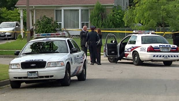 Toronto police are investigating a shooting on Canada Day that left sent a 35-year-old man to hospital.