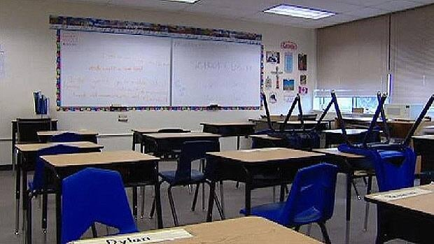 Lkke St. Martin students could soon be back to classes at their temporary Winnipeg school.