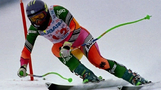 Austrian skier Ulrike Maier, seen here in a 1992 race, died after breaking her neck in a crash during a World Cup race in Garmisch-Partenkirchen, Germany in 1994.