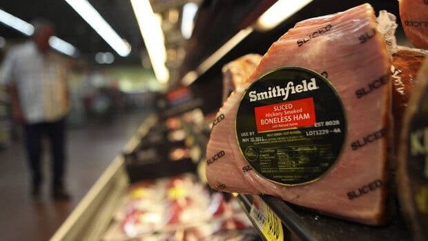 Smithfield Foods Inc., which is headquartered in Smithfield, Va., is the world's biggest pork producer and also owns the Armour and Farmland brands. It will no longer be publicly traded if the sale to Shuanghui International Holdings Ltd.  is approved by shareholders.