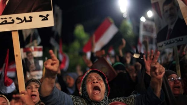 More than 250 people have been killed in violence since the Egyptian military ousted elected president Mohammed Morsi more than a month ago. His supporters have staged daily protests since.