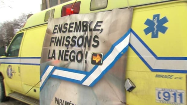 Health Minister Réjean Hébert and the union representing 2,500 striking paramedics are expected back at the bargaining table today.