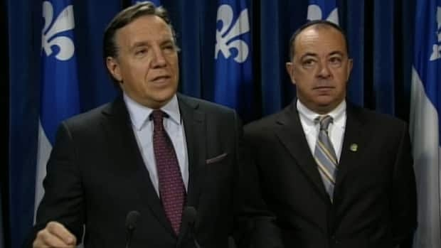 François Legault said his party will not vote in favour of increasing income taxes for people with higher incomes to make way for health tax changes imposed by the Parti Québécois.