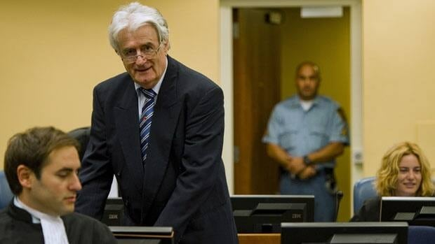 A UN court found former Bosnian Serb leader Radovan Karadzic criminally responsible for killing civilians during a 44-month siege of the Bosnian capital, Sarajevo in the 1990s.