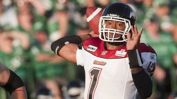 Henry Burris lost his starting job with the Calgary Stampeders last season.